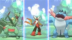 New Mega Evolutions - Pokémon Omega Ruby & Alpha Sapphire ...