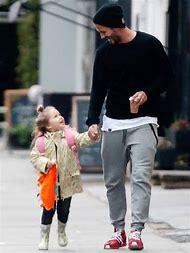 David Beckham and Harper Daughter