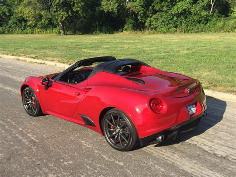 Notes From The Driveway 2015 Alfa Romeo 4c Spider