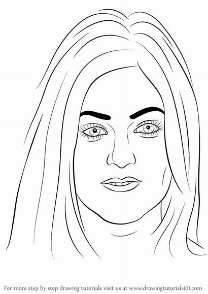 Kylie Jenner Draw Drawing Step Celebrities