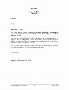 best photos of business letters for employee suspensions With financial aid suspension appeal letter template