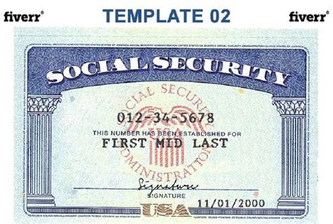 social security template social security card template beepmunk