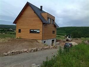 Garage Ossature Bois : abt construction bois maison ossature bois avec garage ~ Melissatoandfro.com Idées de Décoration