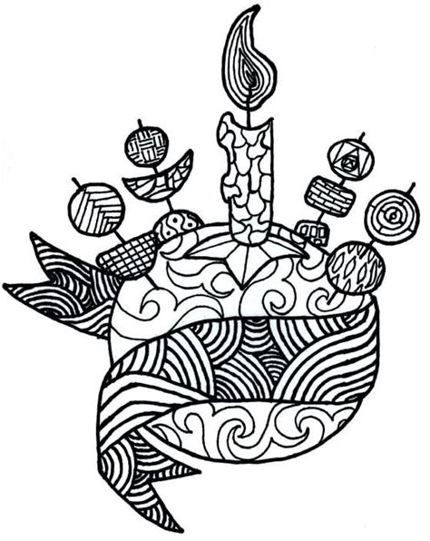 moravian christingle adult coloring pages childrens