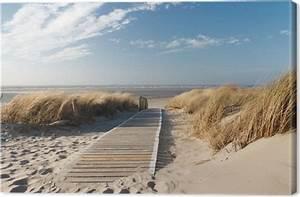 Tableaux Mer Et Plage : tableau sur toile plage de la mer du nord pixers nous vivons pour changer ~ Teatrodelosmanantiales.com Idées de Décoration