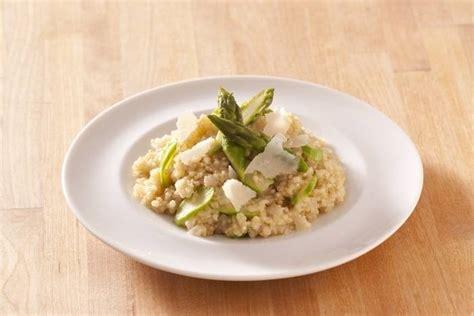 vin blanc cuisine recette de risotto de quinoa et asperges vertes facile et
