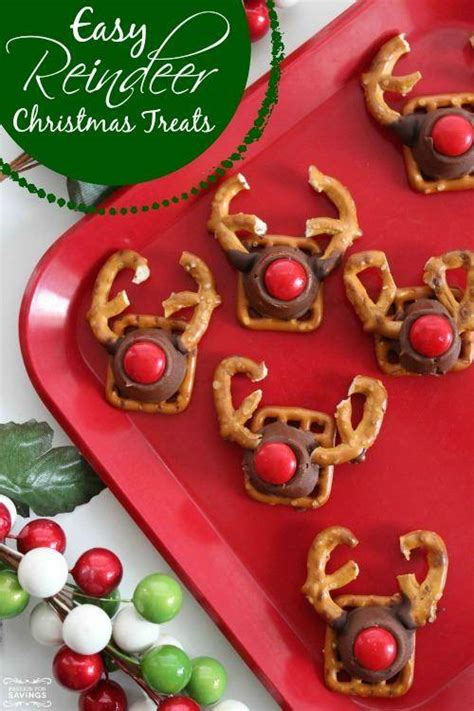 easy reindeer christmas treats