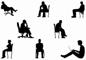 Man Sitting silhouette vector graphicsSilhouette Clip Art ...