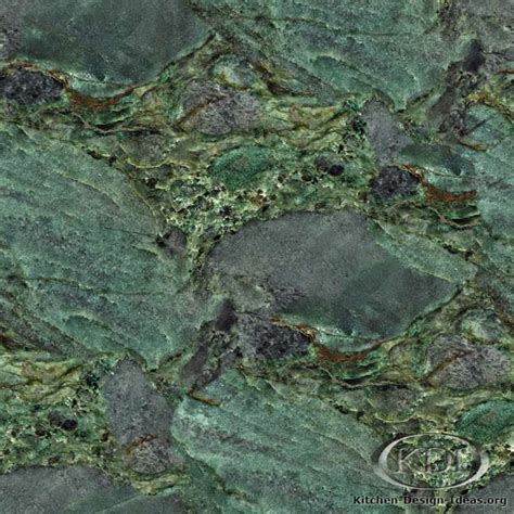 emerald green granite kitchen countertop ideas
