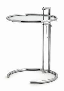 Adjustable Table E 1027 : classicon eileen gray adjustable e 1027 beistelltisch klassiker le corbusier neu ebay ~ Bigdaddyawards.com Haus und Dekorationen