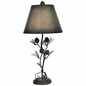 iron twig table lamp from crestview collection 233358 With metal twig floor lamp