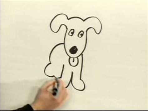 easy cartoon drawing   draw  cartoon dog youtube