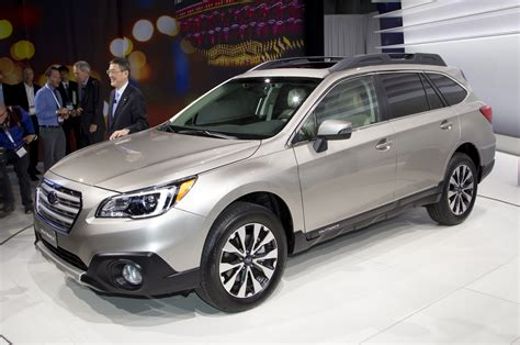 Outback News by New York 2014 New Subaru Outback To Be Shown Autocar India