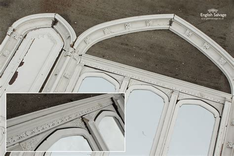gothic wooden arch frame  doors