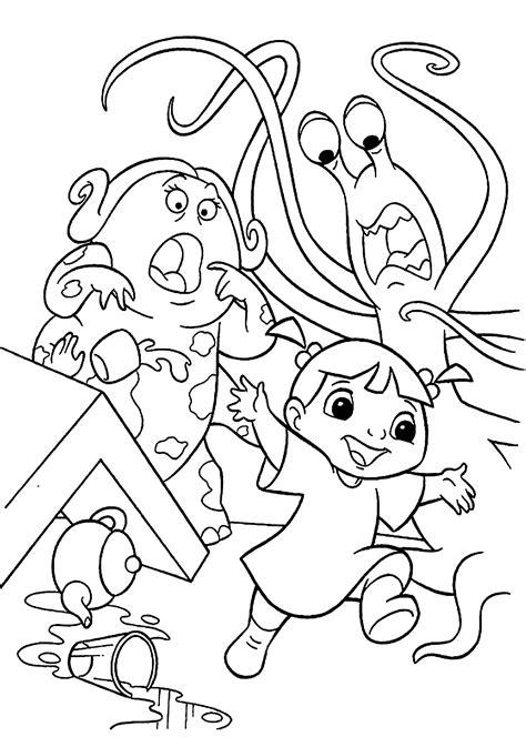 monsters  coloring pages coloringsuitecom