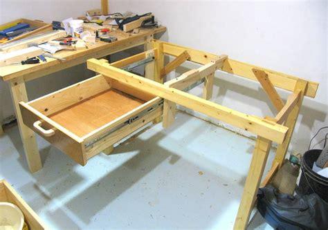 bottom mount drawer slides open bottomed workbench