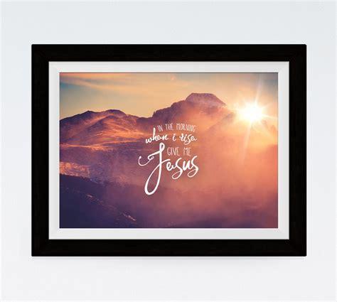 He Has Risen  Matthew 286  Scripture Print