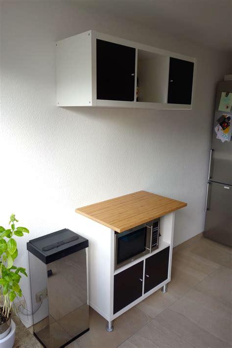 Bei Ikea by K 252 Chenzeile Mit Ikea Kallax