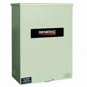 Generac 200 Amp 120  240 Single