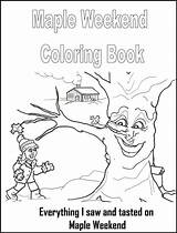 Maple Syrup Coloring Weekend Unit Activities Homeschool sketch template