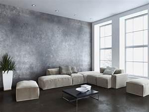 revetements sols et murs peinture chatevaire With peinture beton cire mur