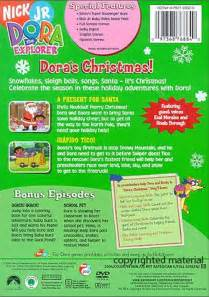 Dora the Explorer Christmas DVD Empire