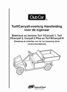 2000 Up To 2014 - Turf  Carryall - Om