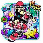 Graffiti Monkey Themes Wallpapers Tricks Phone Theme