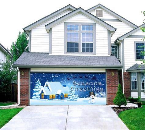 christmas garage door decoration amazing doors pinterest