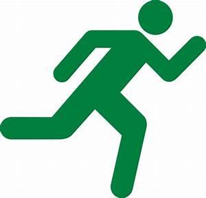 Green Runner Clip Clip Art at Clker.com - vector clip art ...
