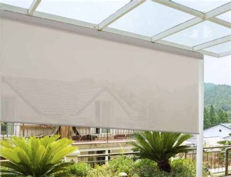 exterior porch shades outdoor patio shades blinds chalet