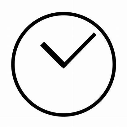 Clock Simple Svg