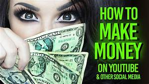 HOW TO MAKE MONEY ON YOUTUBE - Getting started on YouTube ...