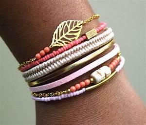 bracelet boho bracelet boheme bijoux bracelet fait main With bijoux fait main