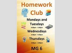 Homework Club St Aldhelms Academy