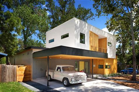 20 Open Garages Accommodated To Houses Designrulz