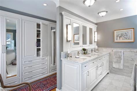 cincinnati white bathroom vanity traditional  built