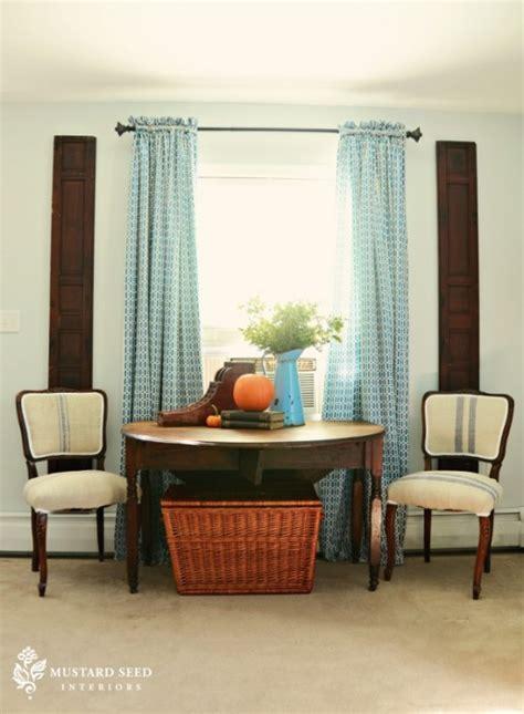 curtain rod template