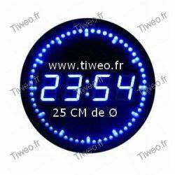 Horloge Murale Led : horloge murale led ~ Teatrodelosmanantiales.com Idées de Décoration