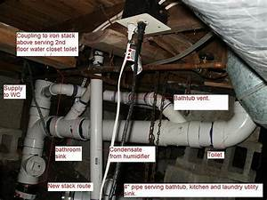 And Water Supply For Added Beam Plumbing Diagram Show