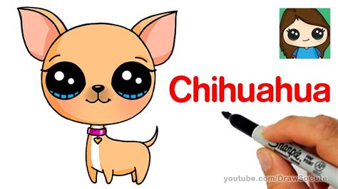 chihuahua dog drawing  getdrawingscom