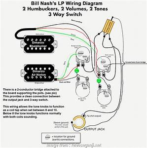 2 Humbucker 3  Switch Guitar Wiring Best Wiring Diagram Dimarzio Humbucker Guitar Diagrams
