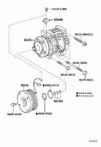 Toyota Land Cruiser A  C Compressor Bracket