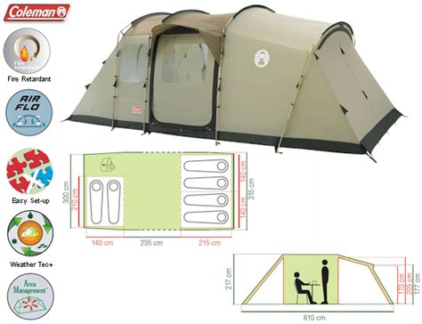 coleman mackenzie cabin 6 coleman mackenzie cabin 6 family tent from coleman for 163 500 00