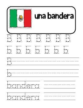 spanish alphabet handwriting practice alfabeto by angelica