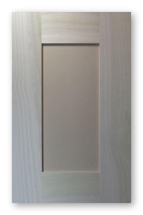 wide rail shaker door poplar frame mdf panel