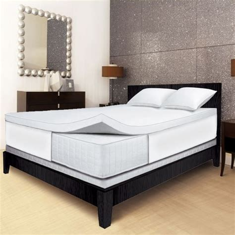 serta memory foam mattress topper serta 2 5 quot memory foam mattress topper cal king