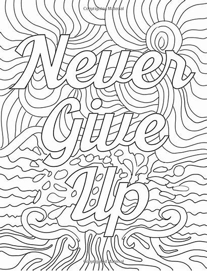 Coloring Positive Smile Vibes Teens Adult Inspirational