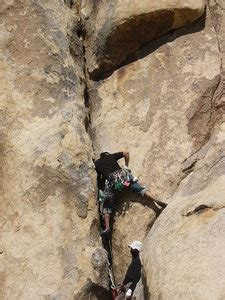 Rock Climb Nuts Are For Men Without Balls Joshua Tree