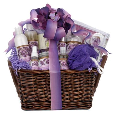 gift baskets created lavender spa gift basket